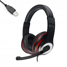 HEADSET SW799 BK USB