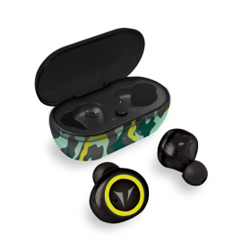 TECHBUDS CAMOUFLAGE GREEN