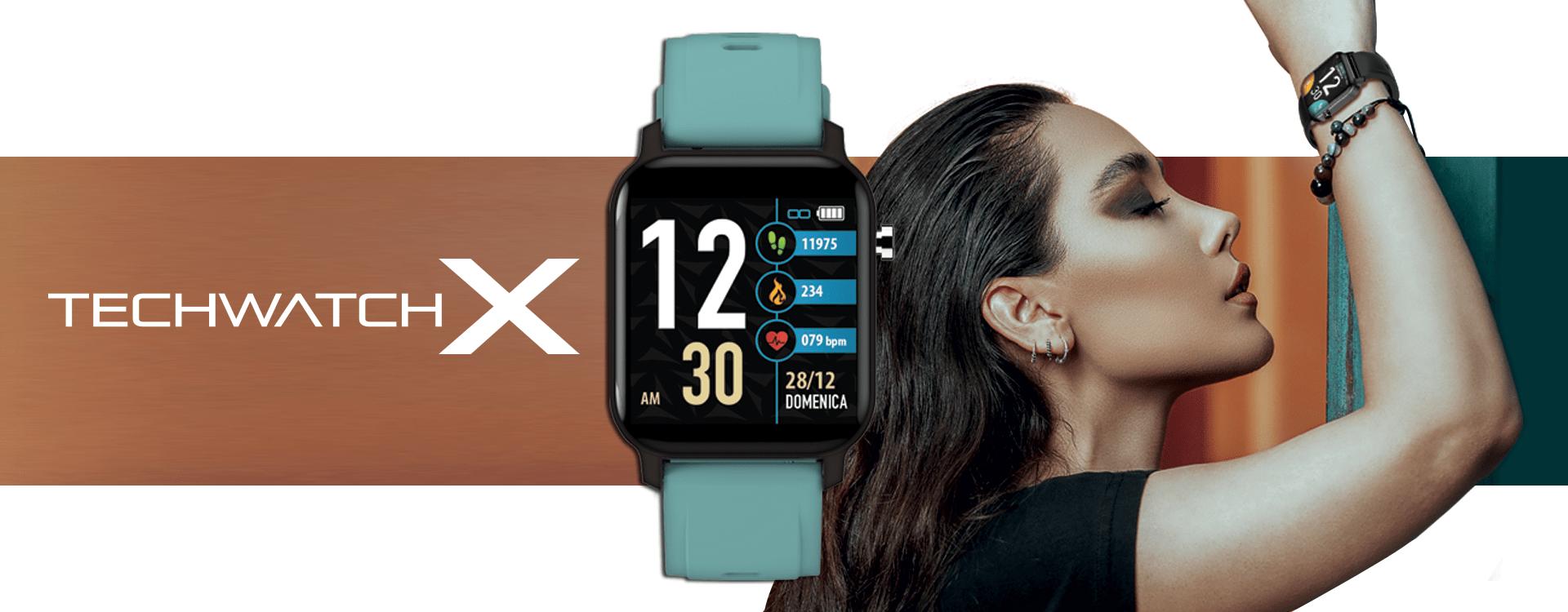 Smartwatch TechWatch X